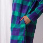 Doskonałej klasy komfortowa nocna koszula dla kobiet